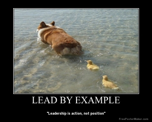 LeadByExample